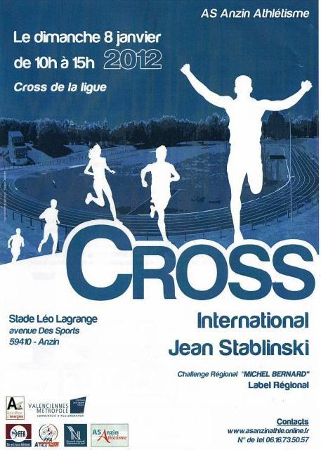 Le cross Jean Stablinski le 8 janvier 2012 à Anzin: dans Calendrier Affichecrossanzin