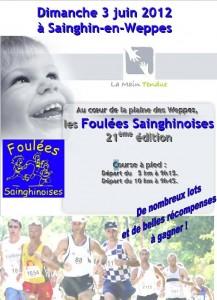 Courses du mois de juin 2012: dans Calendrier FlyerSainghin-217x300