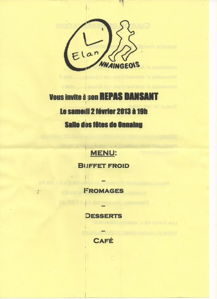 Le repas dansant de l'Elan onnaingeois du 2 février 2013: img150