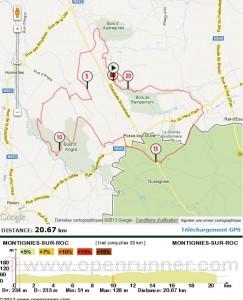 Courses du mois de mars 2013: dans Calendrier parcoursjonquilles20km-243x300